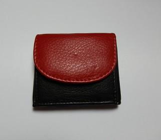 14103 - Minibörse aus Rindleder