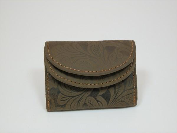 2020 – Minibörse aus Büffelleder