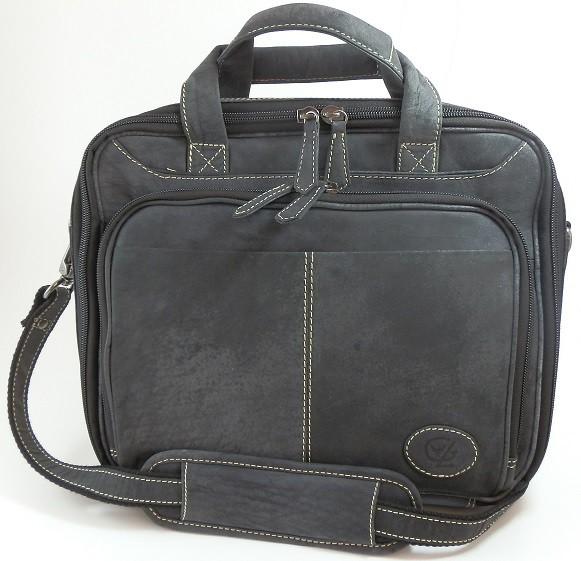 T403 - Safari Laptoptasche / kleine Aktentasche