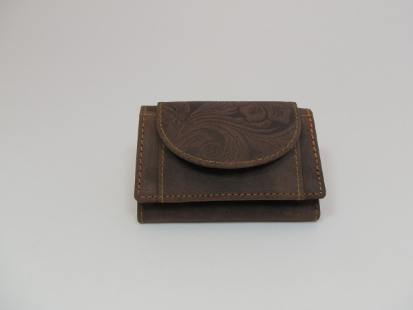 2019 – Minibörse aus Büffelleder