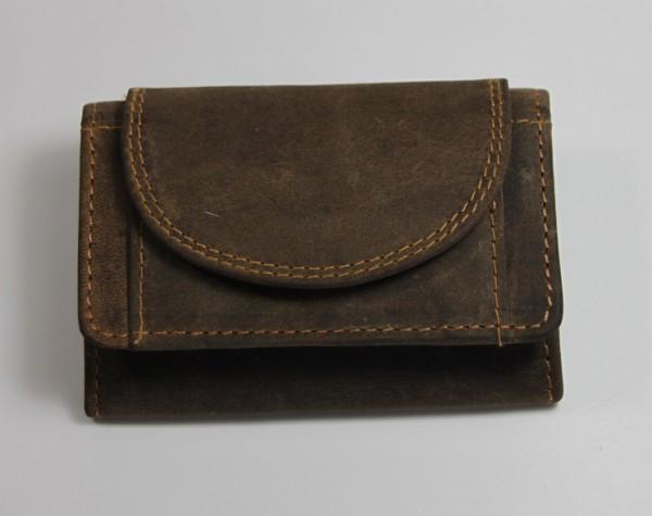 1919 – Minibörse quergewickelt aus Büffelleder