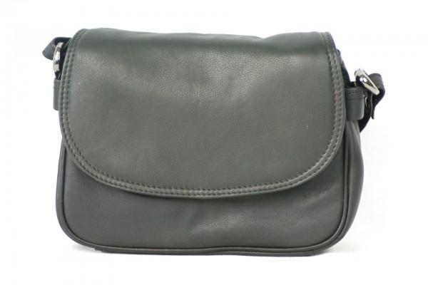 T008 – mittlere Damenhandtasche mit halber Klappe
