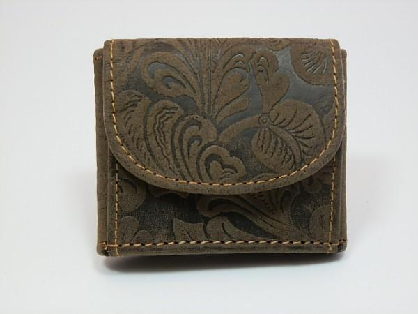 20103 Minibörse aus Büffelleder