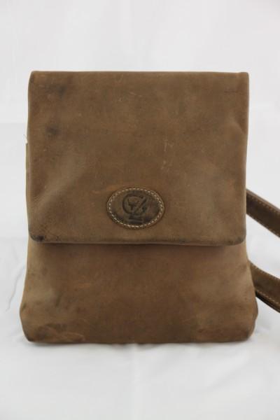 T112-H - Mittlere Handtasche aus Büffelleder